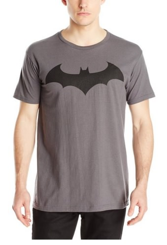Batman Dark Knight Logo Bat Fly Mens T-Shirt