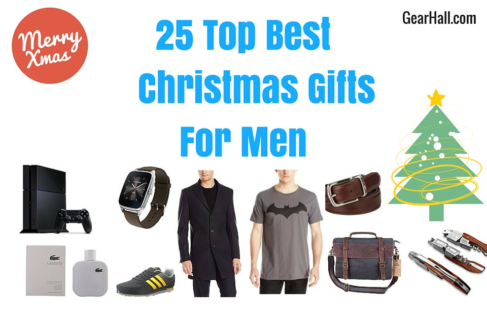25 top best christmas gifts for men 2018