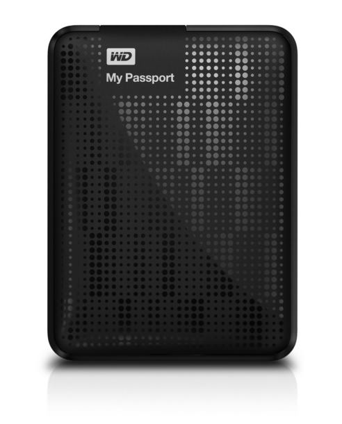 WD My Passport 2TB Portable External USB 3.0 Hard Drive Storage Black