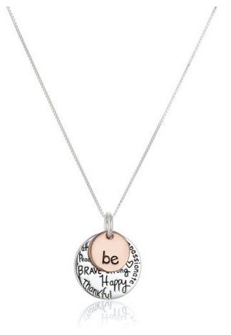 Be graffiti Necklace for her