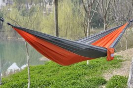 Portable Parachute Nylon Fabric Hammock