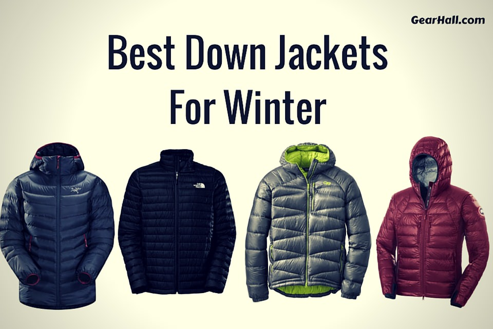 5 Best Down Jackets For Winter 2016
