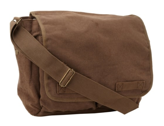 Canvas Classic Messenger Bag