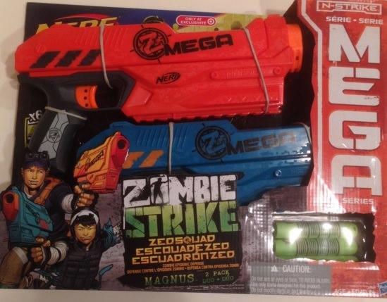 Zombie Strike Z.E.D. Squad Magnus Mega Series 2 Pack