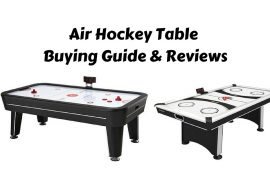 Air Hockey Table Buying Guide & Reviews