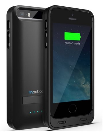 Atomic S portable Charger Case for iPhone SE