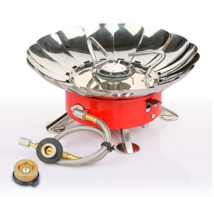 Etekcity Portable Collapsible Windproof Gas Camping Stove