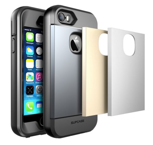 Water resistant full-body rugged iPhone SE Case Supcase