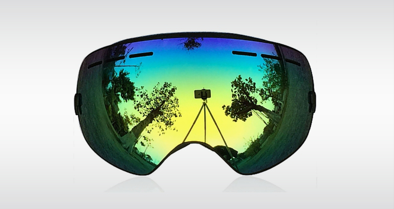 Zinor Snowboard ski Goggles With Detachable Lens