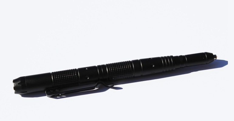 Under Control Tactical Pen with LED flash light