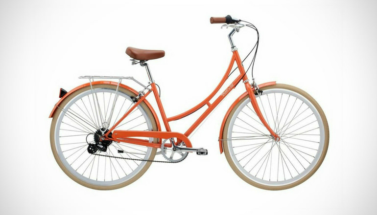 Pure City Dutch Style Step-Thru City Bicycle