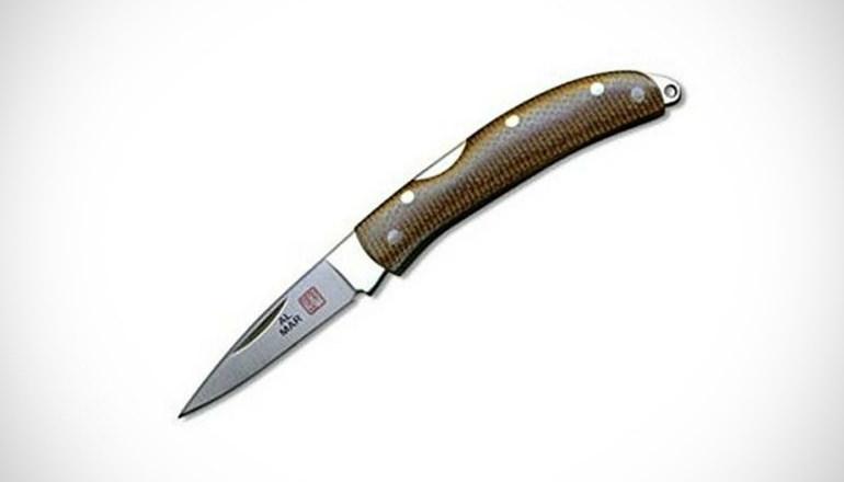 Al Mar Osprey Ultralight Brown Folding Knives