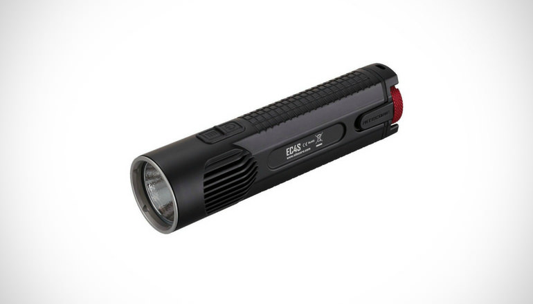 Bundle Nitecore EC4S 2150 Lumens CREE XHP50 LED Flashlight