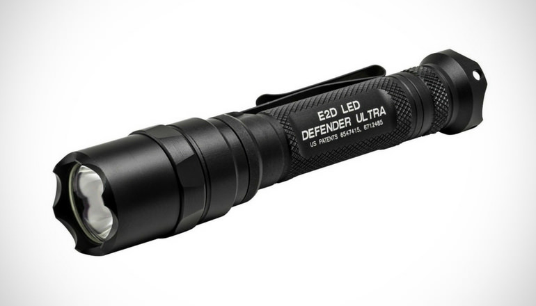 SureFire Defender Series LED Flashlights with Strike Bezel