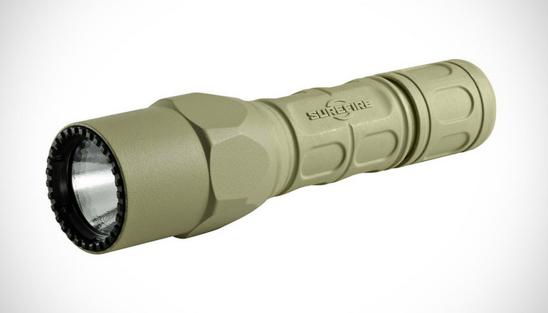 SureFire G2X LED flashlight