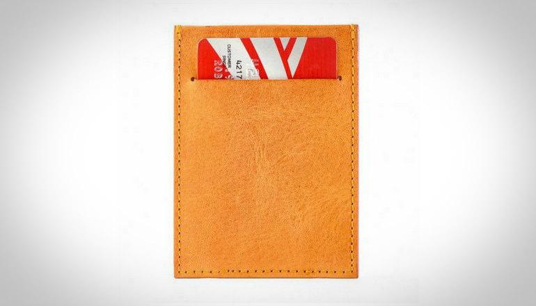 Capsule wallets Minimalist Tanistry