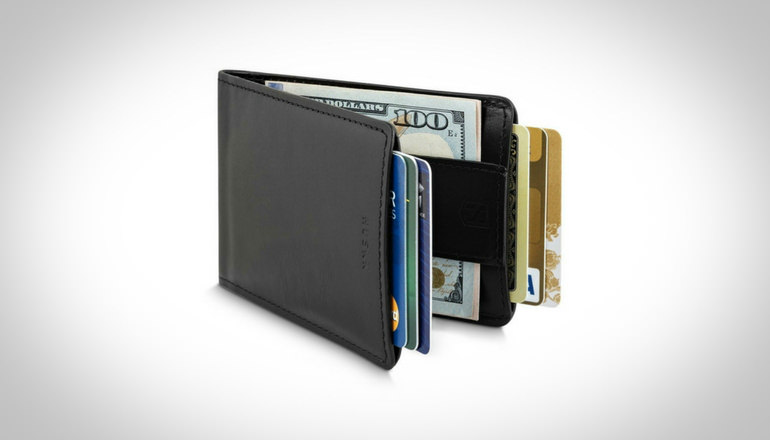 HUSKK Ultra Slim Bifold Leather Wallet