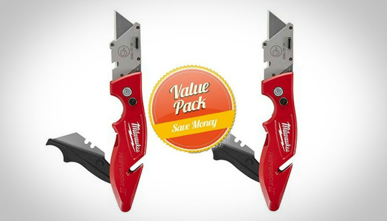 Milwaukee 48-22-1902 Fastback II Flip Utility Knife