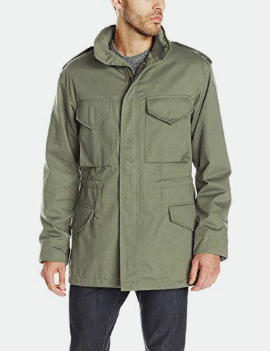 Cockpit USA Men M-65 Cotton Field Jacket