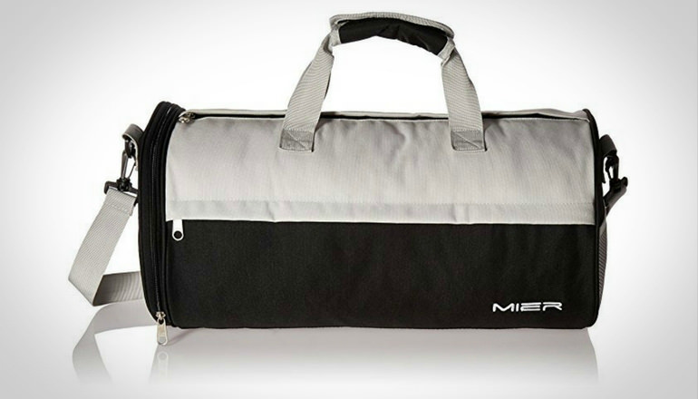 MIER Barrel Travel Sports Gym Bag