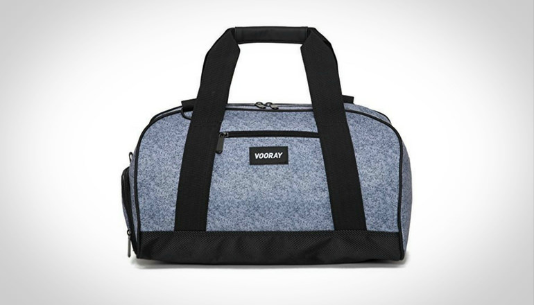 Vooray Burner Compact Gym Bag with Shoe Pocket