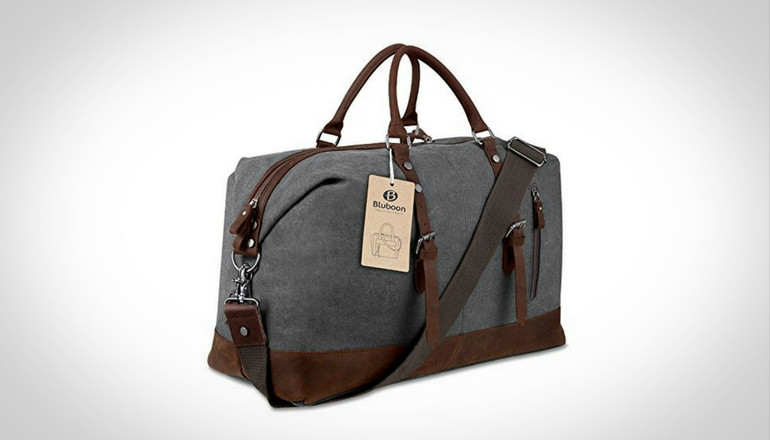 Weekender Overnight Bag Canvas