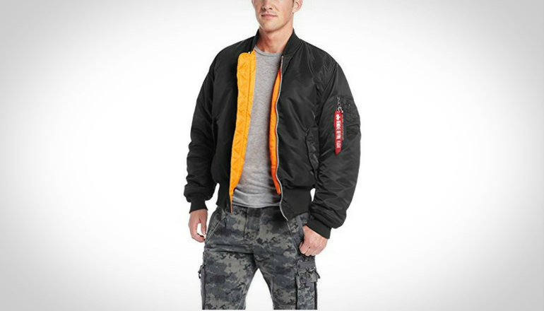 Alpha Industries Men MA-1 Flight Bomber Jacket