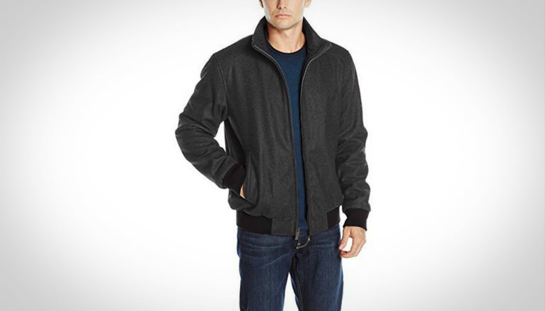 Calvin Klein Men Wool Bomber