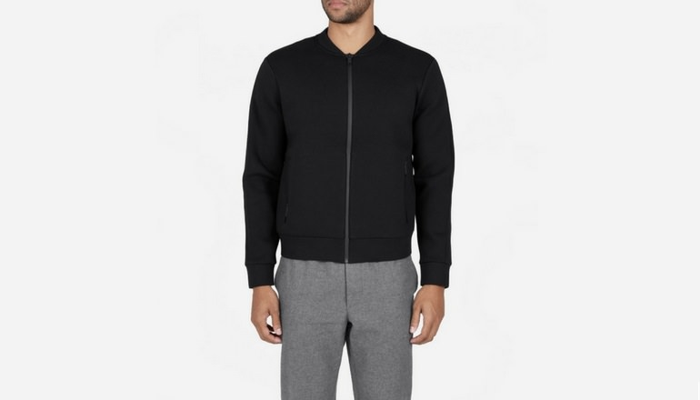 Everlane The Street Fleece Bomber