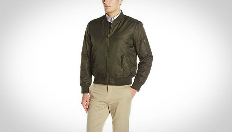 Levi Men Ma-1 Flight Jacket