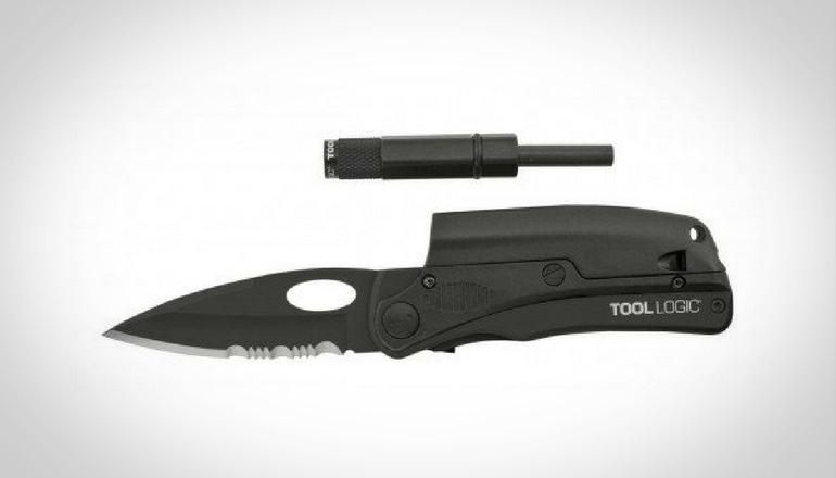 SOG SLPro Folding Knife ToolLogic SLPB2