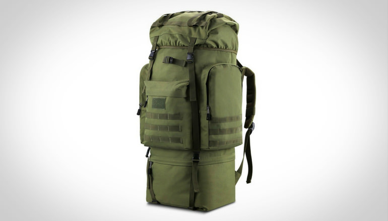 Gonex 100L Hiking Tactical Backpack