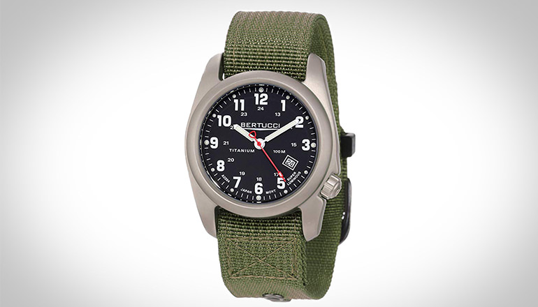 Titanium Field Watch